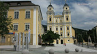 Basilica and castle of Mondsee - Screenshot HD-Video Mondsee