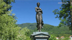 Memorial at the Almeida park - Screenshot HD-Video Mondsee