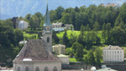 Franciscan church - Screenshot HD-Video Salzburg City Centre